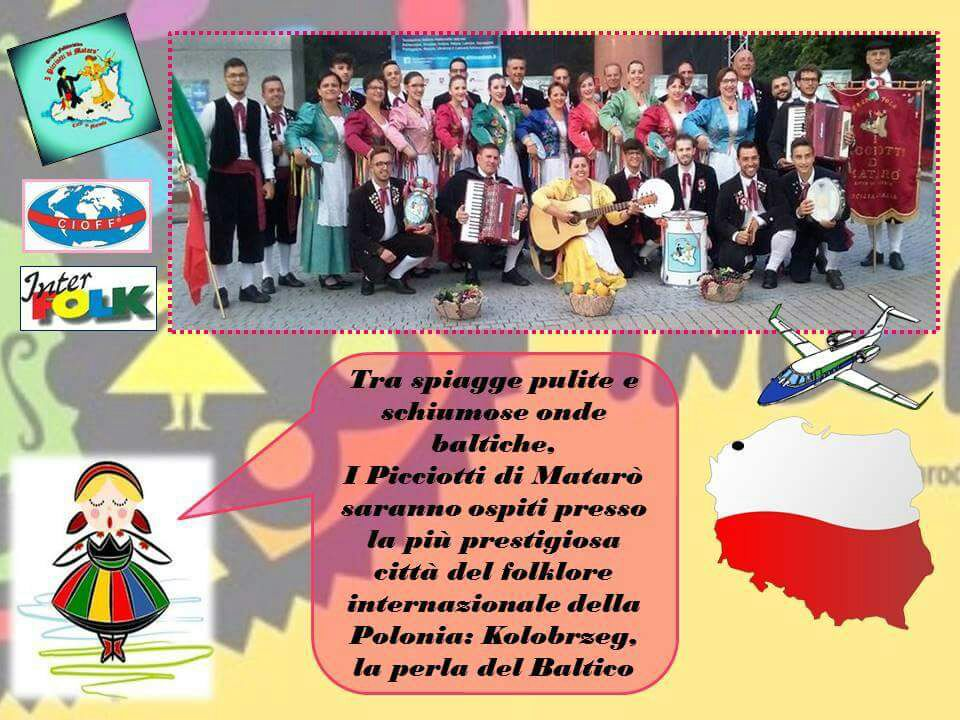 "International Folk Festival ""INTERFOLKG  - Kolobrze - POLAND"""